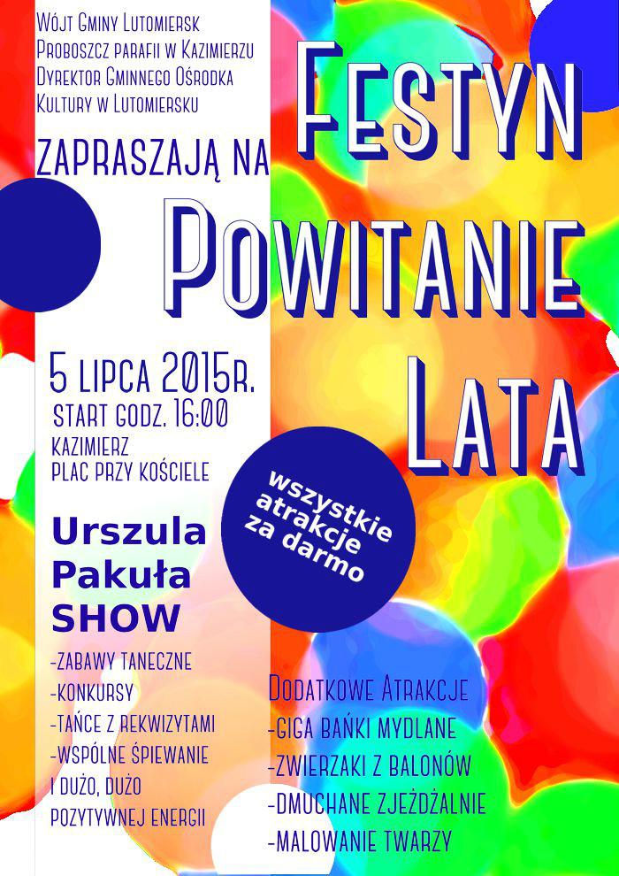 Festyn Powitanie Lata